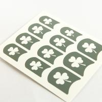 Wholesale Leaves printing Nail Art Stencils PET Coating Design for ladies from china suppliers