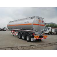Wholesale 46000L-3 Axles- Aluminum Tanker Semi-Trailer For GASONLINE, jet from china suppliers