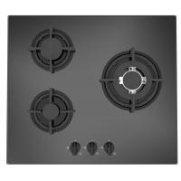 Wholesale 3 Burners Glass Gas Hob from china suppliers