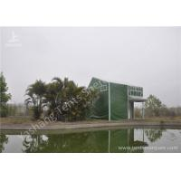 Wholesale Green Cover UV Resistant PVC Fabric Tent Structure For Coffe Parties from china suppliers