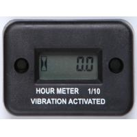 Wholesale Inductive,BLack LCD Gasoline Engine Digital Waterproof Hardline Vibration Hour Meter from china suppliers