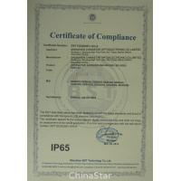 Shenzhen ChinaStar Optoelectronic Co., Limited. Certifications