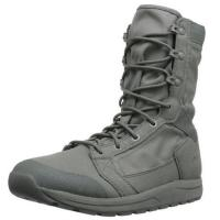 "Wholesale Mens Tachyon 8"" Military Boots Soft Black Cow Leather Slip - Resistant Outsole from china suppliers"