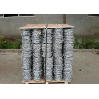 Wholesale Anti Climb Cross Wire Fence Sharp Coiled Barbed Wire For Government Buildings from china suppliers