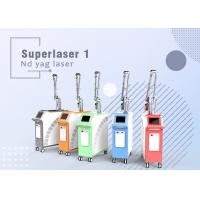 Wholesale Q Switch Nd Yag Laser Giant Pulse laser for Tattoo Removal Skin Rejuvenation from china suppliers
