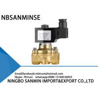 Wholesale Large Diameter Brass Solenoid Valve , Explosion Proof Solenoid Valve 2 Way from china suppliers