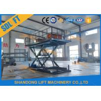 Wholesale Home Residential Hydraulic Scissor Car Lift Garage Parking Car Lift CE Certificate from china suppliers