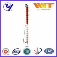 Wholesale 110KV 10KA KEMA Transmission Line Surge Arrester with Leave Device from china suppliers