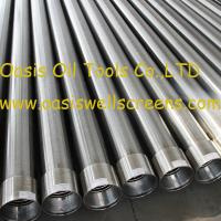 Wholesale Oasis factory supplies Stainless steel sand control wire wrapped water well screens from china suppliers