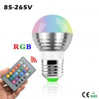 Wholesale AC 85V - 265V 5W 16 Colorful Changeable RGB LED Spotlight Bulb with IR Remote Controller from china suppliers