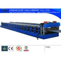 Wholesale 2mm Thickness Corrugated Sheet Roll Forming Equipment With Gearbox Driven from china suppliers