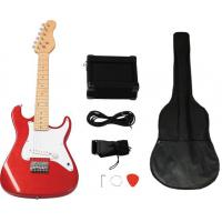 Wholesale Mini ST Style 31 inch Electric Wooden Toy Guitar Set With 5 Watt Amplifier AGT31-ST2 from china suppliers