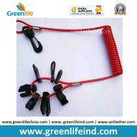 Wholesale 7key Universal Emergency Spiral Cord in Red Color Black Accessories from china suppliers