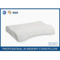 Wholesale Large Cleaning Memory Foam Massage Pillow For Bed Sleeping , Crescent Shape from china suppliers