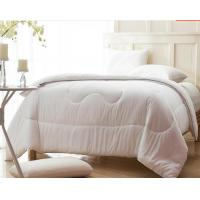 Wholesale 100% polyester Cheaper Box Quilting Duvet Quilt with sel-Piping with good quality from china suppliers