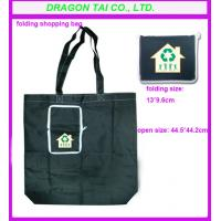 Wholesale Foldable nylon shopping Bag with zipper , folding nylon bags from china suppliers