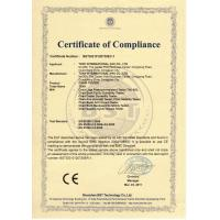 Dongguan Hust Tony Instruments Co.,Ltd. Certifications