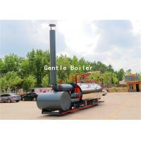 Wholesale Durable Gas Diesel Oil Fired Steam Boiler Q245R Steel Plate Material from china suppliers
