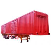 Wholesale CSAC Van Body Truck Cargo Strong Box Semi Trailer with 6 Double - chamber from china suppliers