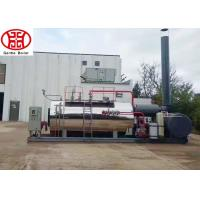 China Quick Assembly Oil Steam Boiler Natural Circulation Horizontal For Food Industry on sale