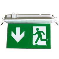 Wholesale 200LM Ceiling Recessed Indoor Led Battery Operated exit signs with emergency lighting from china suppliers