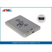 Wholesale ISO14443A / B USB RFID Reader For Personal Identification DC 5V Power Supply from china suppliers