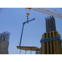 High Load Bearing Capacity , Powder Coated Lifting Fork Used for Table Formwork