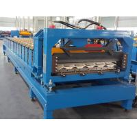 China CE Roof Panel Roll Forming Machinery 18 Stations 5 Tons De - Coiler Single Chains on sale