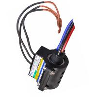 Quality 3 Circuits Rotating Wind Turbine Slip Ring Electrical Data Carbon Brush ,Contact 1000V AC/DC for sale