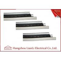 Wholesale Grey / Black Galvanized Steel Flexible Electrical Conduit with PVC Coated from china suppliers
