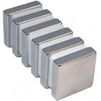Wholesale Small Strong Neodymium Radial Magnets Block Coating Ni from china suppliers