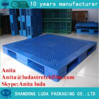 Buy cheap 1200*1100mm grid double deck blowing pallet from wholesalers