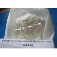 Wholesale DMAA Effective Pharmaceutical Raw Materials 1,3-Dimethyl-pentyl amine Hydrochloride (CAS 71776-70-0) from china suppliers