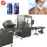 Buy cheap Shaving Foam Bag On Valve Aerosol Filling Machine / BOV Crimping Machine PLC Control from wholesalers