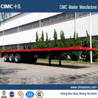 Wholesale 40 tons three axle flat bed trailer for sale from china suppliers