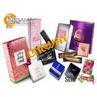 Wholesale Rectangle Coated Paper Cosmetic Packaging Boxes for Lipstick from china suppliers