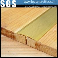 Quality Brass Floor Extrusion T Layer Frame / Copper T Slot Framing for sale