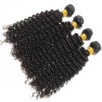 Wholesale Soft Smooth Unprocessed Long Natural Curly Hair , Brazilian Human Virgin Hair Weft from china suppliers