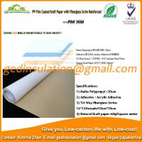 Wholesale PP film coated kraft paper with fiberglass scrim reinforced from china suppliers