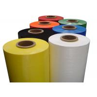 Wholesale Colored LLDPE Stretch Film Moisture-proof For Wrapping / Carton Marking from china suppliers