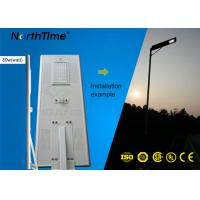 Wholesale High Lumens Outdoor 80W Solar Powered Street Lights with Lithium Battery & Bridgelux LED Chips from china suppliers