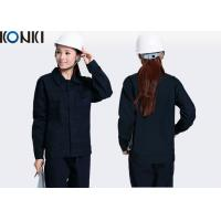 Quality High Visibility Safety Work Jackets Industrial Work Uniforms Anti - Static for sale