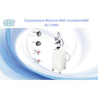 Wholesale Salon Cryolipolysis Slimming Machine , Multipolar RF Cavitation Abdomen Fat Freezing Machines from china suppliers