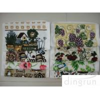 Wholesale Cleaning Colorful Printed Embroidered Kitchen Towels Lightweight More Soft from china suppliers
