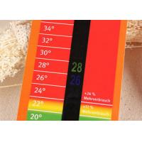 Wholesale 14℃ ~ 36℃ Household LCD Room Thermometer Card for Promotion Gift / Advertising Media from china suppliers