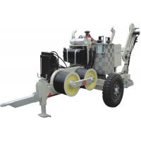 Wholesale Electric Stringing Construction SA-YQ60  60KN Hydraulic Cable Puller With Diesel Engine from china suppliers