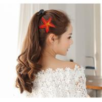 Wholesale Fancy Girls Infant Velcro Hair Bows Accessories Fashion Leather from china suppliers