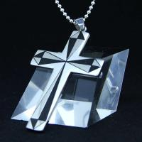 Wholesale Fashion Top Trendy Stainless Steel Cross Necklace Pendant LPC252 from china suppliers