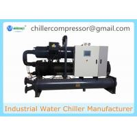 Buy cheap 500kw 142TR Industrial Water Cooled Screw Chiller for Plastic Injection Machines from wholesalers