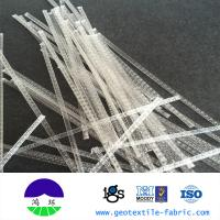 Wholesale Reinforcing Polypropylene Fibers For Concrete , Crack Resistance from china suppliers